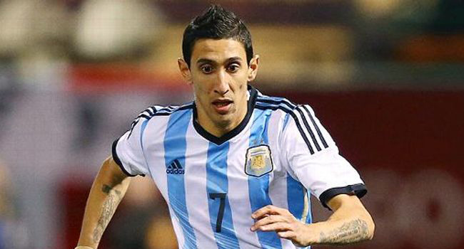 Di Maria Leads Argentina To Victory