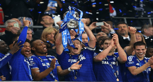 Chelsea Wins Capital One Cup