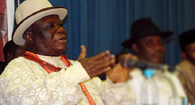 Edwin Clark Writes Buhari, Supports Actions Against Pipeline Vandals