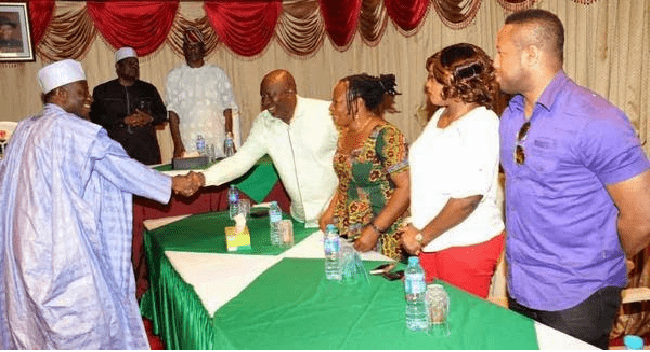 Jonathan Meets With Nigerian Entertainment Practitioners