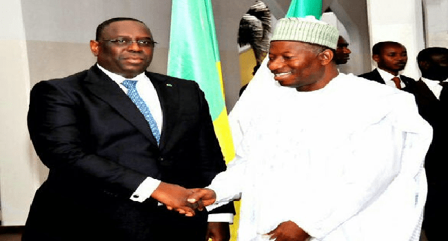 Senegalese President Holds Talks With Jonathan