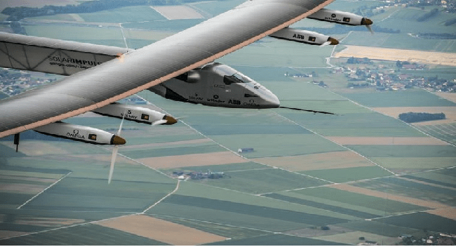 Solar Impulse-2 Plane To Fly Around The World