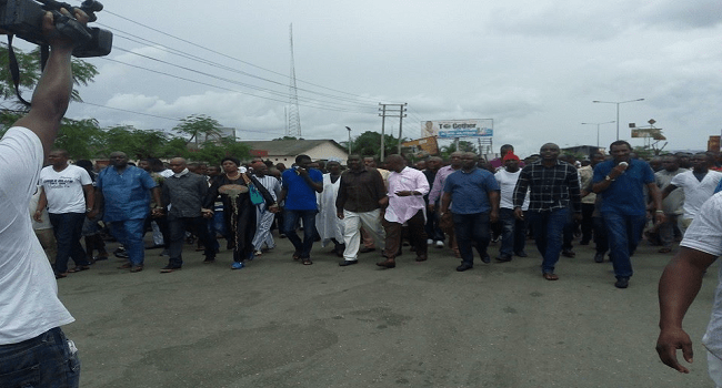 Information Ministry Workers Protest Alleged Fund Misappropriation