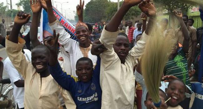 Kaduna State Residents Celebrate Buhari's Victory