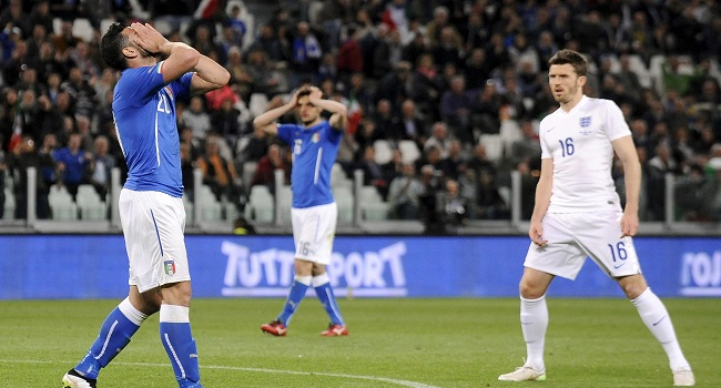 Townsend Scores As England Draw With Italy