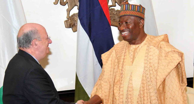 European Union Commends Jonathan For Saving Nigeria From Chaos