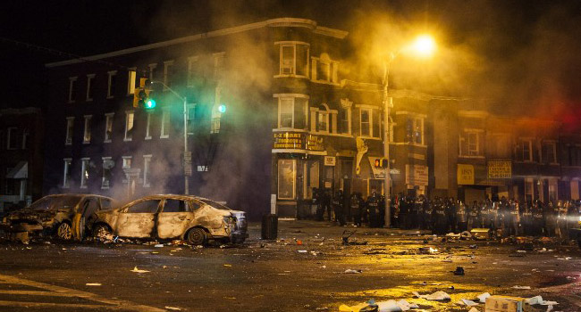 Freddie Gray: State of Emergency Declared As Baltimore Riots Spread