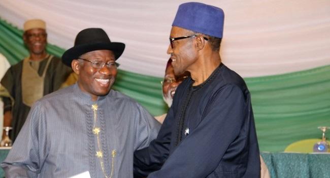President Jonathan Presents Handover Note To Buhari