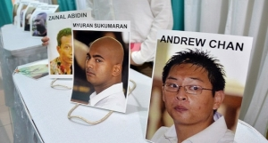 persons Executed by the Indonesian govenrment for drug trafficking