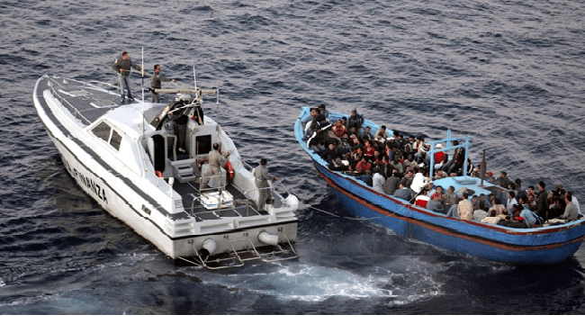 Hundreds Of Migrants Drowned In Mediterranean Sea
