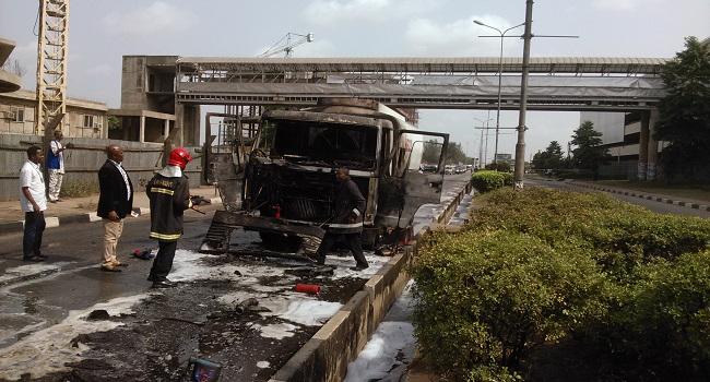 Fire Disaster Averted At Murtala Mohammed Airport 2