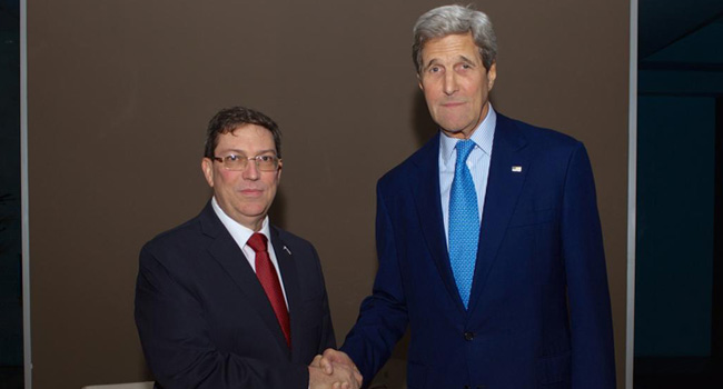 U.S. And Cuba Hold Historic Meeting