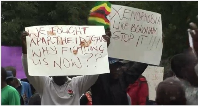 TUC Stages Protest Over Xenophobic Attacks