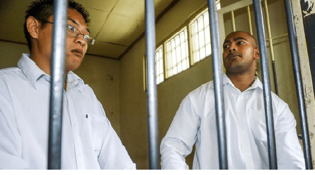 Indonesia Court Rejects Appeal By Australian Death Row Pair