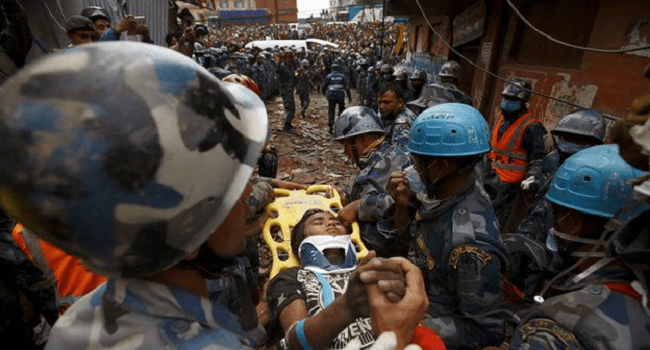 Nepal Earthquake: Teenage Boy Rescued After 5 Days