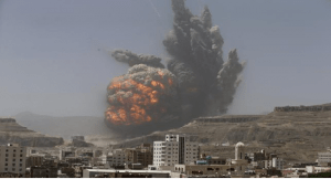 saudi arabia-air strike