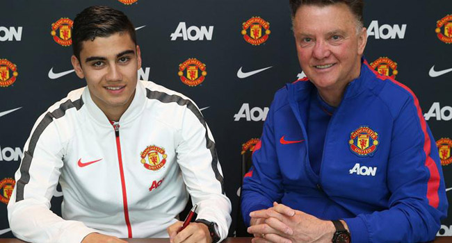 Andreas Pereira Signs New Man-United Contract