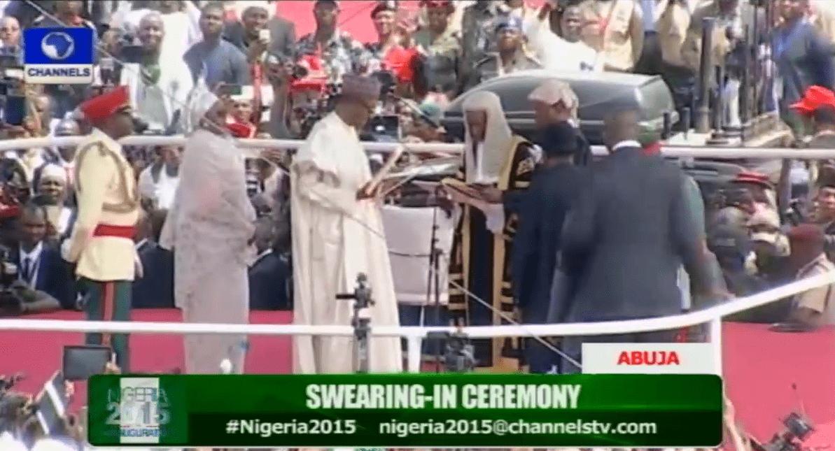 Muhammadu Buhari Sworn-In As President of Nigeria
