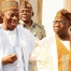 Goodluck Jonathan and Obasanjo At National Council of State Meeting