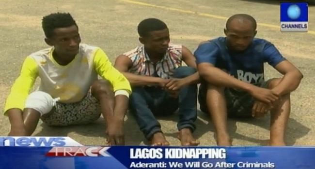 Police Arrest 3 Suspected Kidnappers, Rescue Victim In Lagos
