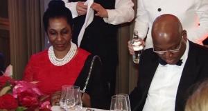 Mr John Momoh and Mrs Olusola Momoh