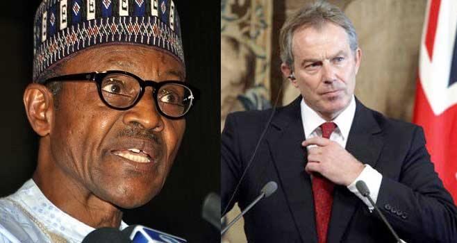 Buhari Assures Tony Blair Of Continued Nigeria-UK Collaboration