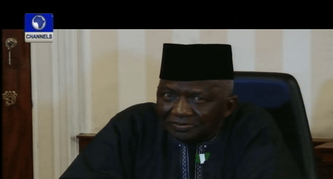 Tafida Decries Lack Of Data Base Of Nigerians Abroad