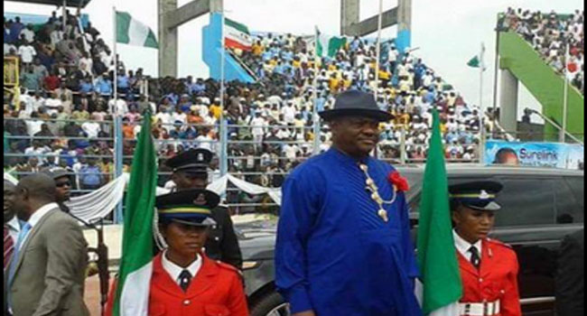 Nyesom Wike Sworn In As Governor Of Rivers State