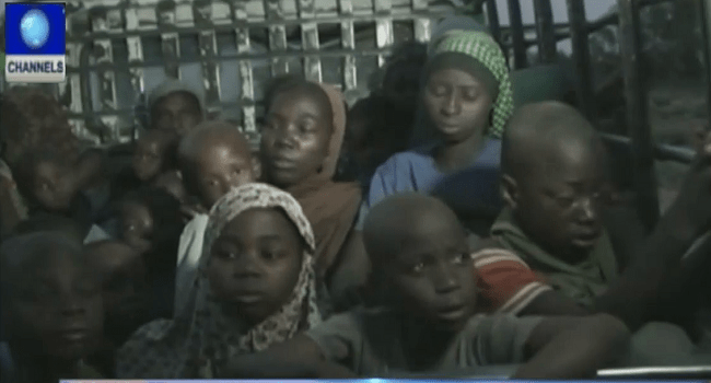 Rescued From Boko Haram