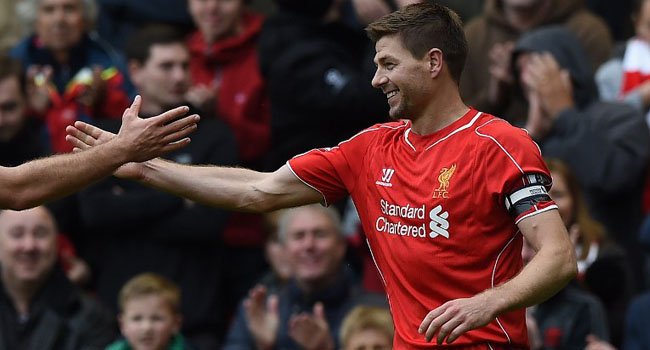 Gerrard Elated To Be Back With Liverpool