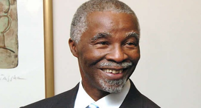 Pay Attention To Anti-Corruption Institutions, Mbeki Tells Buhari
