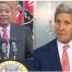 Uhuru Kenyatta and John Kerry