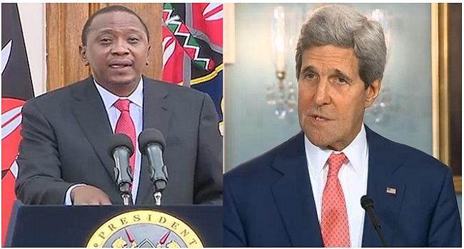 Kerry, Kenyan President Hold Talks On Al Shabaab Threat