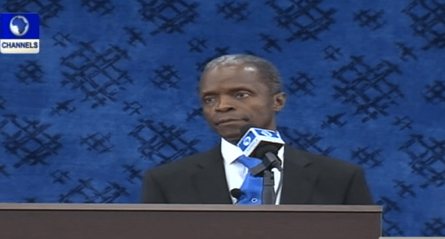 Osinbajo Outlines Incoming Government's 'Enormous Task'
