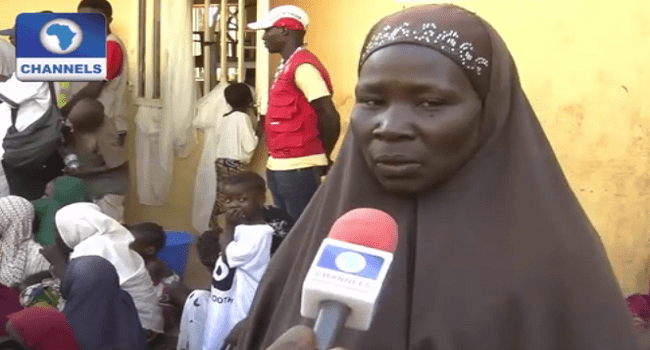 Rescued Woman Says Boko Haram Fed Her With Rice And Oil