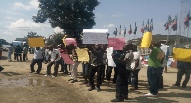 Kogi Teachers Protest Unpaid Salaries
