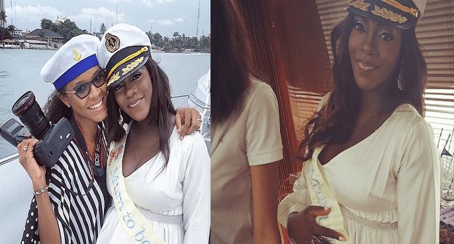 Tiwa Savage Throws Sailor Themed Baby Shower