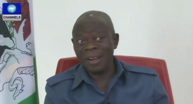 Edo State Lost Over 10 Billion Naira In 4 Years – Oshiomhole