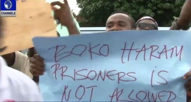 South-east Traders Protest Boko Haram Prisoners' Stay