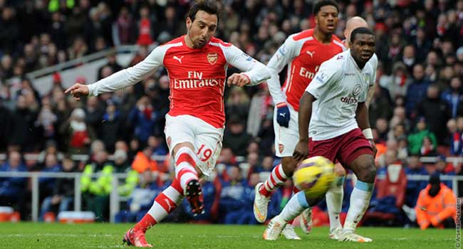 Wenger Hails Santi Cazorla's 2014/15 Performance For Arsenal