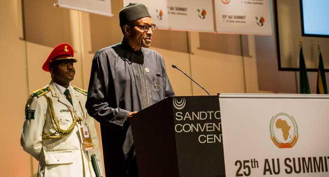 Full Text: President Buhari's Speech at the Opening Session of the AU Summit