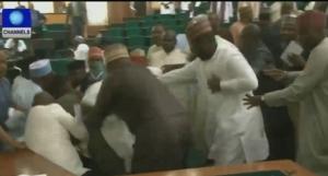 House-of-Representatives-in-Nigeria-fight
