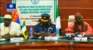 Lake Chad Basin Commission meeting on MNJTF