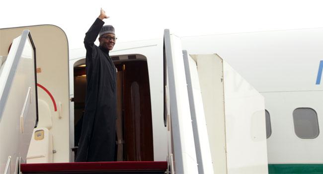 President Buhari Leaves for G7 Summit