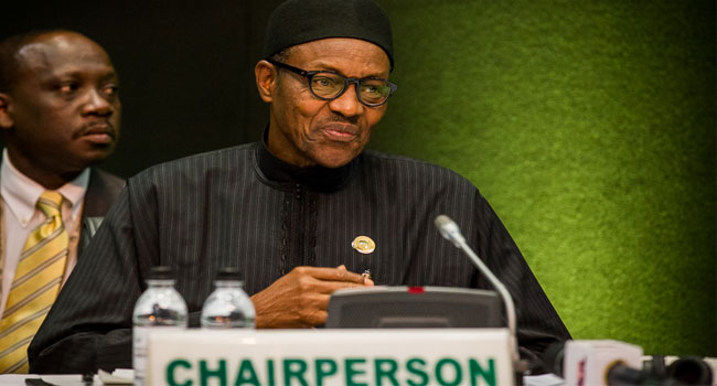 Buhari Chairs Peace And Security Council Meeting At AU Summit