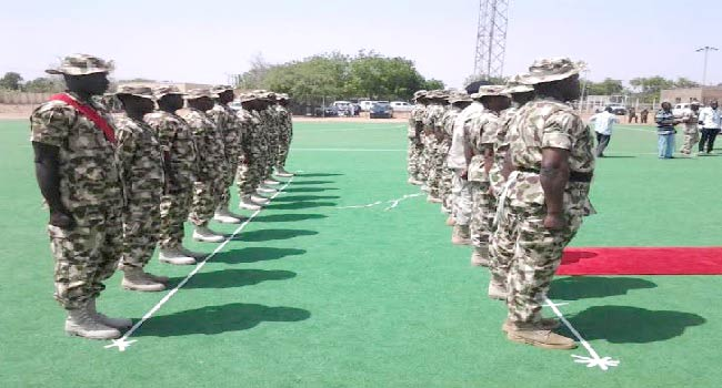 Nigerian Army Honours Officers In Yobe