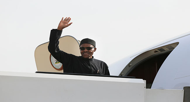 Buhari Ends Visit To US, Leaves For Nigeria