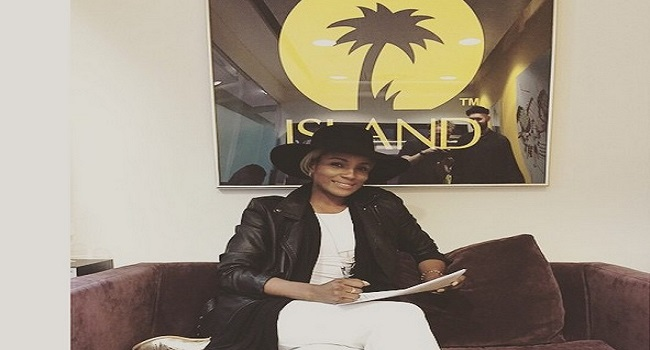 Seyi Shay Signs Deal With Island Records