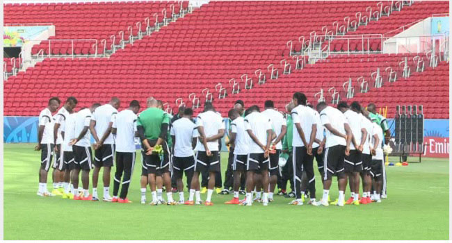 Super Eagles To Resume Training In 3 Weeks
