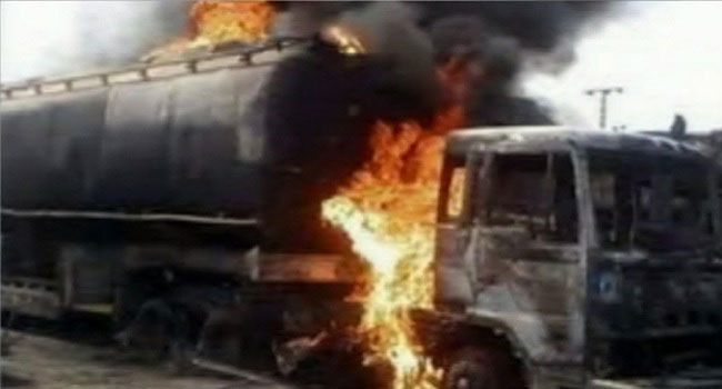 Tanker Explosion Kills One In Kaduna, Razes Police Station